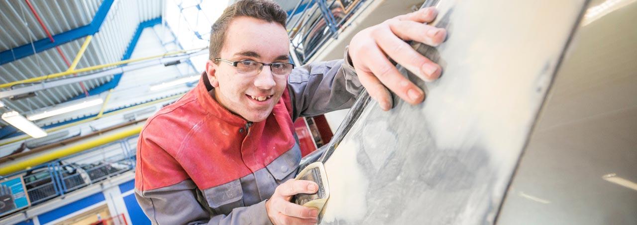 CAP Réparation en carrosserie
